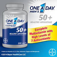 Специальные Мультивитамины с Мультиминералами для Мужчин кому за 50+, 65 таблеток