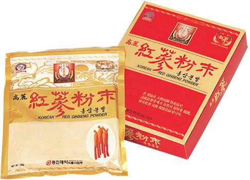 Порошок Красного Корейского 6 летнего Женьшеня, 300 грамм