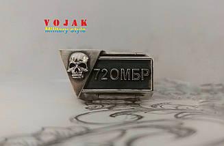 Перстень - печатка серебряный 72-га окрема механізована бригада імені Чорних Запорожців 72 ОМБр