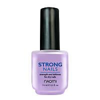 Захисний засіб сильні нігті Strong Nails 15 мл NAOMI