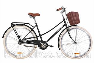 """Велосипед Dorozhnik - Comfort Female (2020) (28""""/700c-19.5"""") Чёрный"""