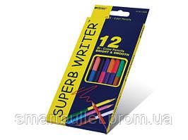 """Цветные карандаши Marco """"SUPERB WRITER"""", двухсторонний, 24 цвета"""