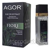 FIORI / ФІОРІ натуральна парфумована вода 30 мл AGOR