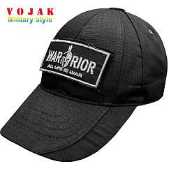 Бейсболка WARRIOR (ВОИН) Black