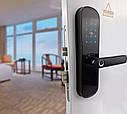 Умный дверной кодовый замок с отпечатком пальца Tuya на карта Пароль управления с телефона, фото 3