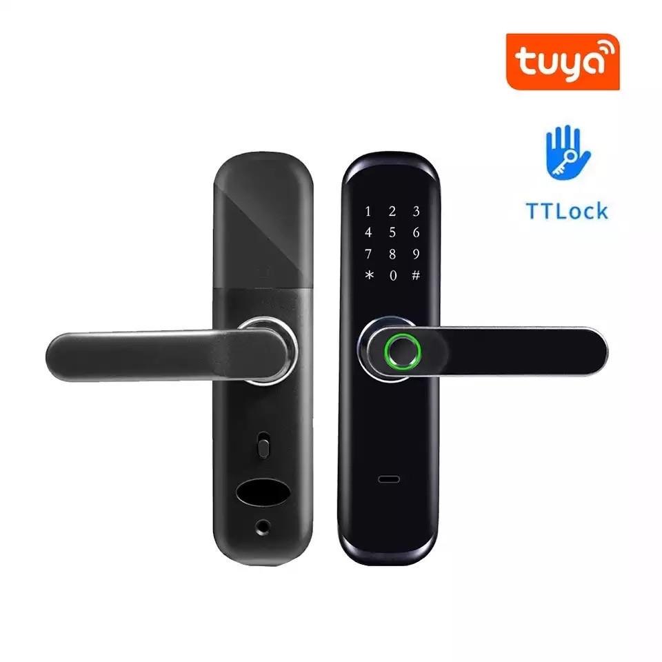 Умный дверной замок  TTLOCK S213 с отпечатком пальца Black