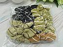 Гумки для волосся з бантиками 12 шт/уп., фото 2