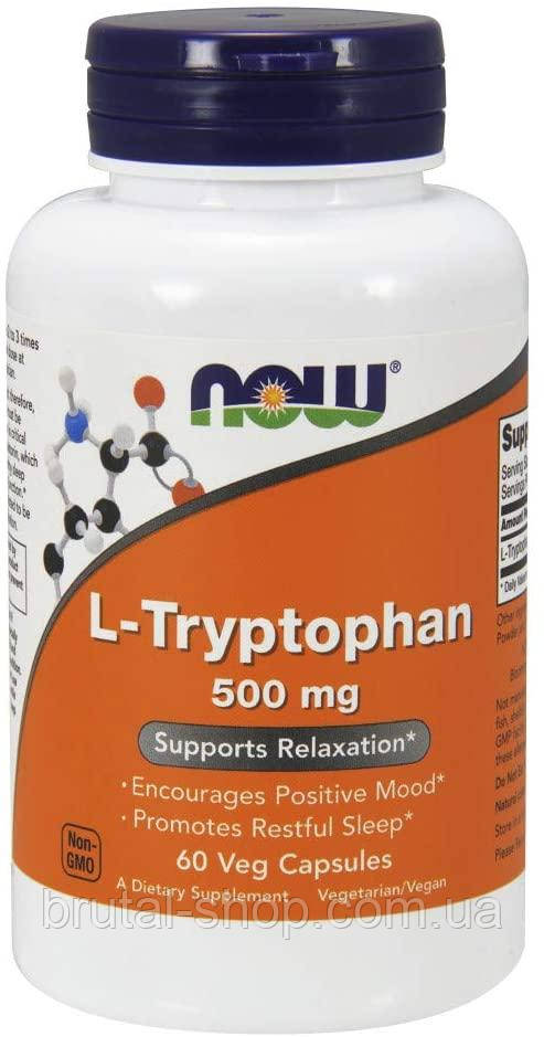 Now Foods L-Tryptophan 500 mg (60caps)