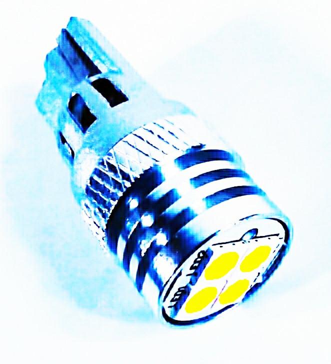 LED автолампа лед диодная BTLE1206, T10 W5W, 12В, 5Вт, Белый