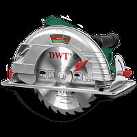 Циркулярная пила ручная DWT HKS21-79 (пила по дереву, дисковая пила, сменный диск, гарантия 2 года)