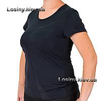 Женская спортивная футболка больших размеров, футболка для занятий спортом, одежда для фитнеса Valeri 4029