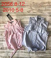 """Блузка дитяча на зав'язках з рюшами на дівчинку 5-8 років(2 цв) """"MATILDA"""" купити недорого від прямого постачальника"""