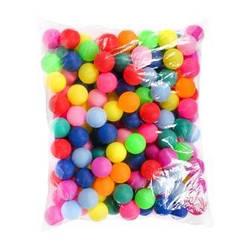 Теннисный мячик BT-PPS-0033Ц цветной 40мм, 140шт в пакете, 10 пакетов /100/1400/