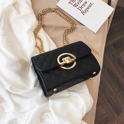 Женская сумка клатч на цепочке