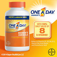 One a Day™ Специальные Мультивитамины с Мультиминералами для Женщин, 100 таблеток