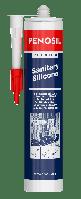 Герметик PENOSIL Premium санитарный силиконовый белый 310 мл