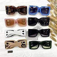 Модные женские брендовые солнцезащитные очки