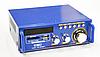 Усилитель звука UKС BT 3636 полупроводниковый, SD/MMС/FM, 40 Вт, 2 канала, 5V, от сети, полупроводниковый