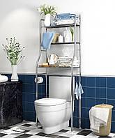Стелаж для зберігання Підлоговий туалетний шафа регульований по висоті TOILET RACK, фото 1