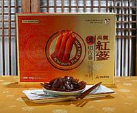 Засахарённые Корни Красного Корейского 6 летнего Женьшеня кусочками, 20 грамм