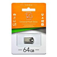 Флеш накопитель для передачи данных T&G 106 серая, 64GB, металл, USB 3.0, флешка T&G, флешка на 64GB, USB