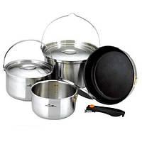 Набор туристической посуды Kovea All-3PLY Stainles Cookware(7~8) KKW-CW1105