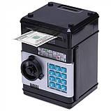 Электронная копилка «персональный банк» черный, фото 4