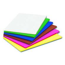 Дошка обробна пластикова різних кольорів 430 * 270 * 12 мм (шт)