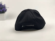 Кепка Бейсболка Мужская Женская City-A с надписью Youth с пластиковой застежкой тракер Черная, фото 2