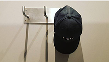 Кепка Бейсболка Мужская Женская City-A с надписью Youth с пластиковой застежкой тракер Черная, фото 3