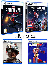 Игровые диски для PS5