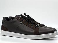 Мужская весенняя обувь Кроссовки кеды повседневные коричневые Rosso Avangard Puran Brown Floto, фото 1