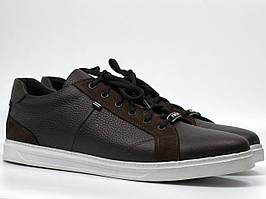 Мужская весенняя обувь Кроссовки кеды повседневные коричневые Rosso Avangard Puran Brown Floto
