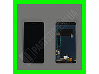 Дисплей Xiaomi Redmi Note 4 с сенсором, черный (оригинальные комплектующие)