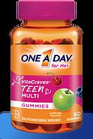 One A Day® Мультивитамины для Подростков Девочек, 60 штук