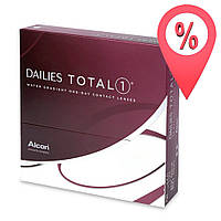 Контактные линзы Alcon Dailies Total 1 90 шт.