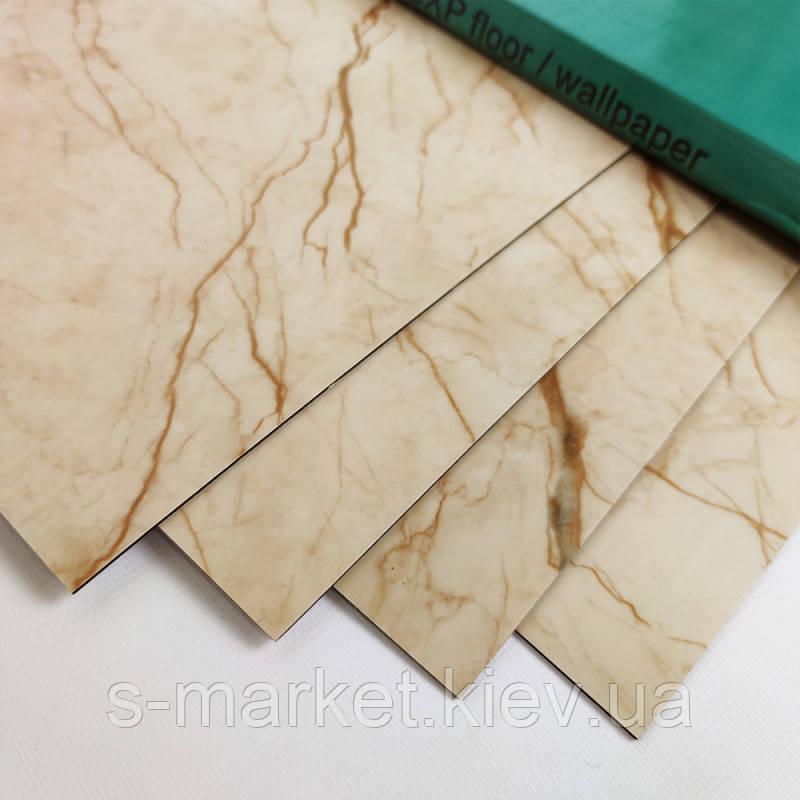 Самоклеящаяся плитка благородный мрамор, цена за 1м2 (мин. заказ 5м2)