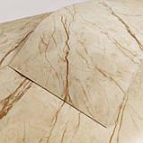 Самоклеюча плитка благородний мармур, ціна за 1м2 (мін. замовлення 5м2), фото 3
