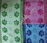 Махровое кухонное полотенце Кленовый лист (20)