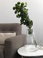 Ваза фігурна для флористики h 35 см, d 20 див.