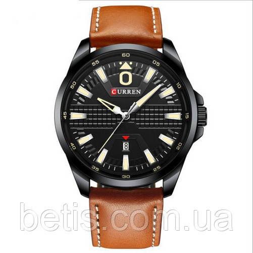 Curren 8379 Black-Brown