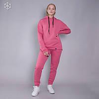 Женский теплый спортивный костюм Teamv Comfort 3 Коралловый L