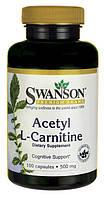 Ацетил L-карнитин, 500 мг. 100 капсул