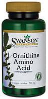 L-Орнитин Аминокислота, 500 мг. 60 капсул