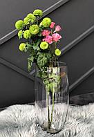 Ваза фігурна для флористики. h 39 см, 18,5 см .