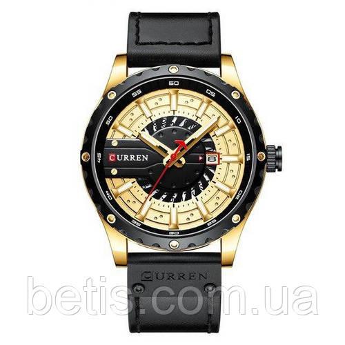 Curren 8374 Black-Gold