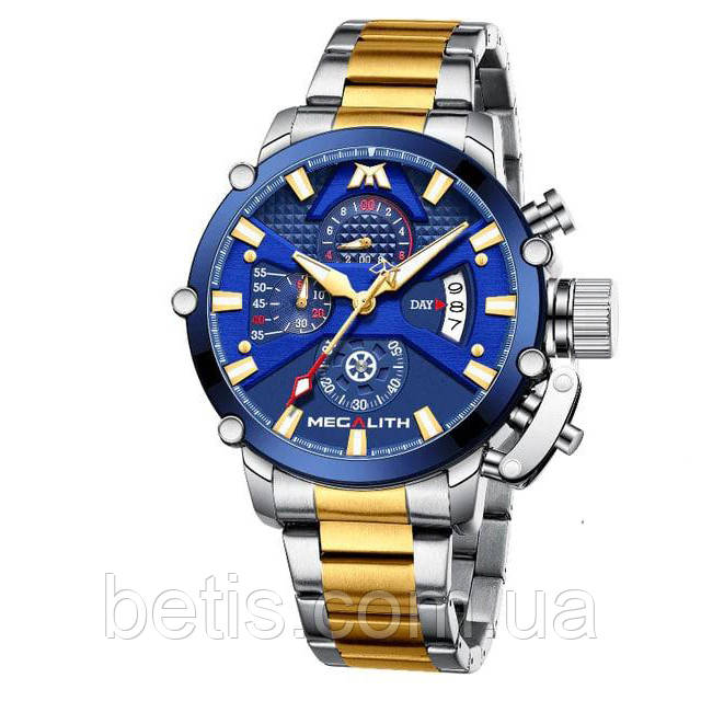 Megalith 8219M Silver-Gold-Blue