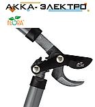 Сучкорез плоскостной шестеренчатый стальные рукоятки 610мм FLORA (5022504), фото 2