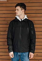Куртка Staff zip black чёрный MBM0092 S, 46