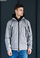 Куртка Staff zip gray серый MBM0093